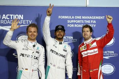 Lewis Hamilton beats Nico Rosberg to Bahrain Grand Prix pole