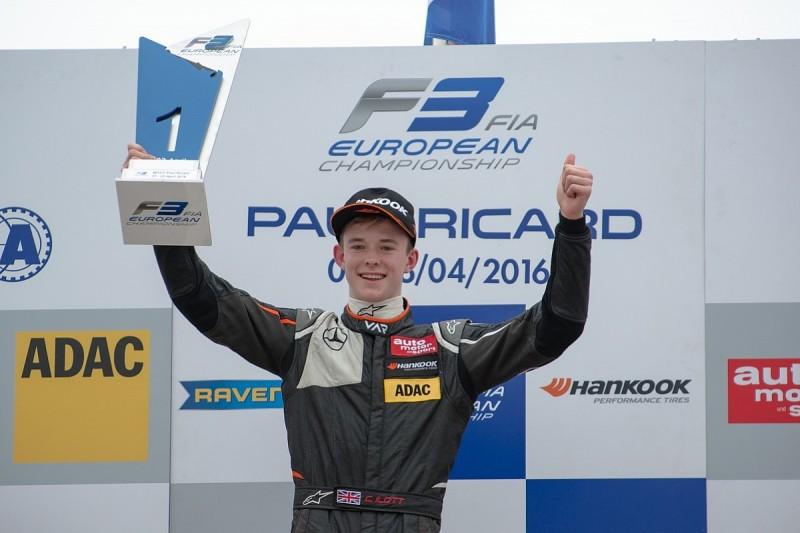 Callum Ilott wins dramatic Paul Ricard European F3 race