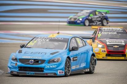 Volvo Polestar's Bjork excluded from WTCC Paul Ricard qualifying