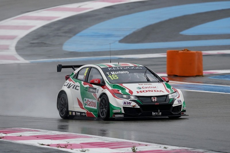 Honda's Monteiro fastest in first WTCC Paul Ricard practice session