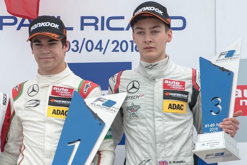Prema orders to help Stroll ruining European F3, Russell believes
