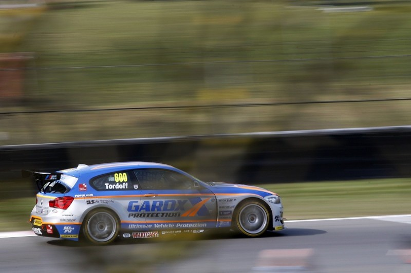 WSR BMW driver Sam Tordoff leads second Brands Hatch BTCC practice