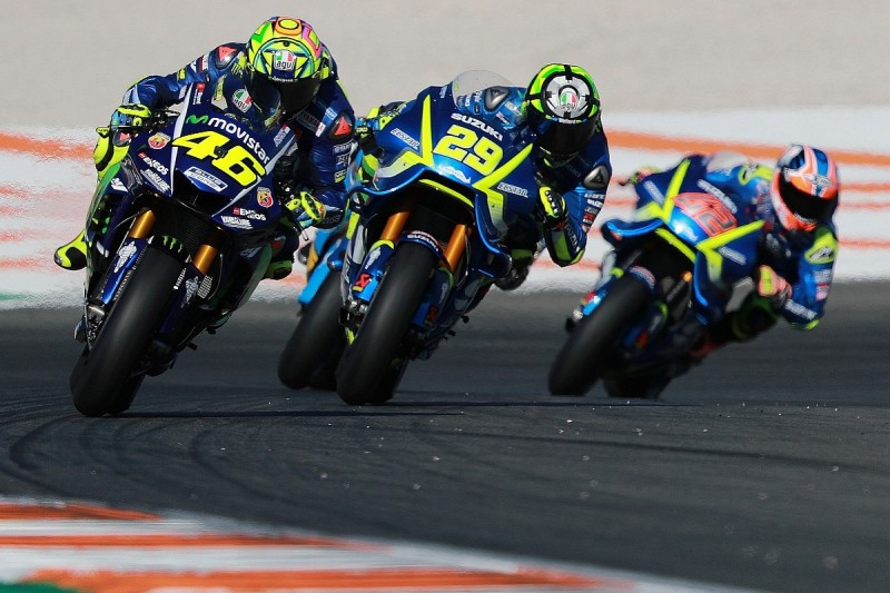 Yamaha's Rossi/Vinales reverted to 2016 MotoGP chassis at Valencia