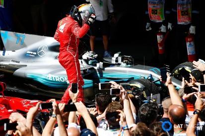 Brazilian GP: Vettel defeats Bottas as Hamilton charges to fourth