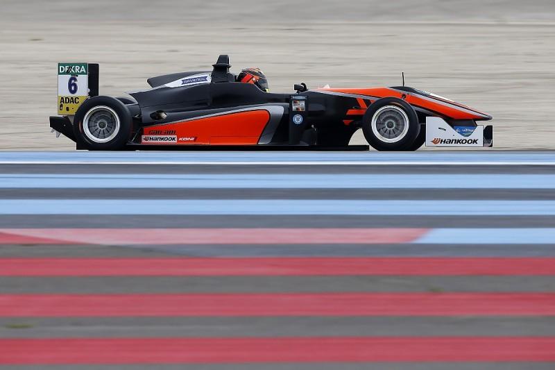 Ilott helped by European F3's new lighter penalties after fire
