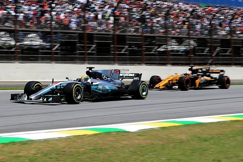 Brazilian GP: Recovering Hamilton quickest 'by a long way'