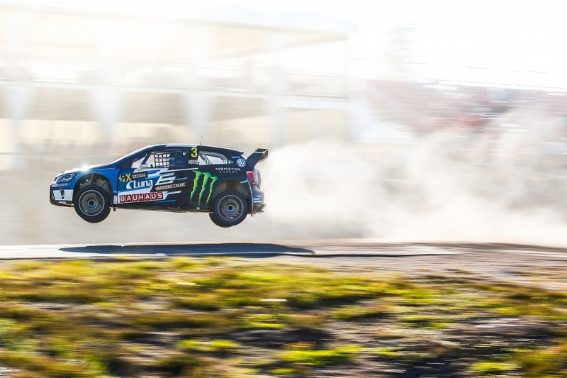 WRX South Africa: World champion Kristoffersson tops qualifying