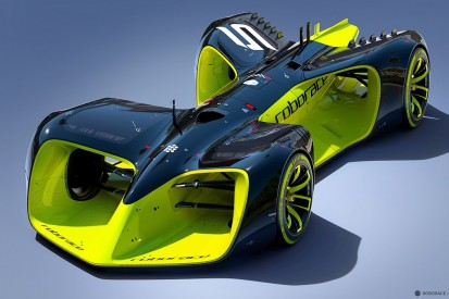 Technical analysis of the driverless Roborace concept car