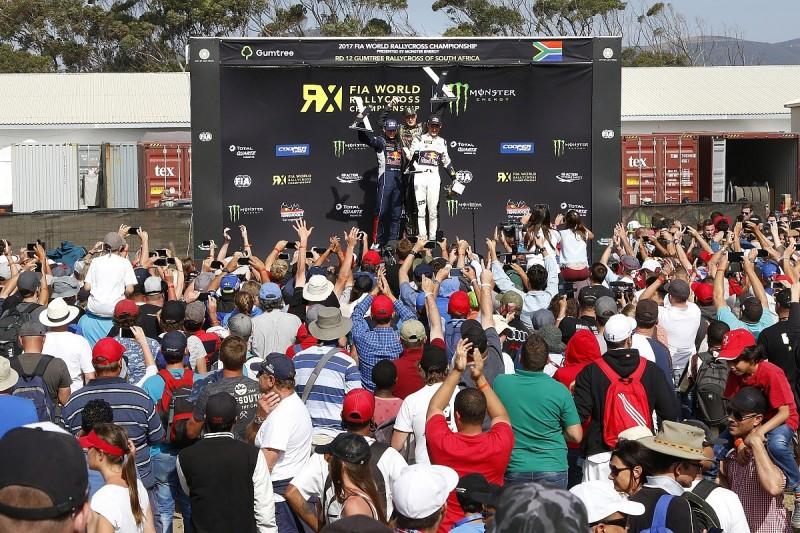 WRX South Africa: World champion Kristoffersson dominates finale