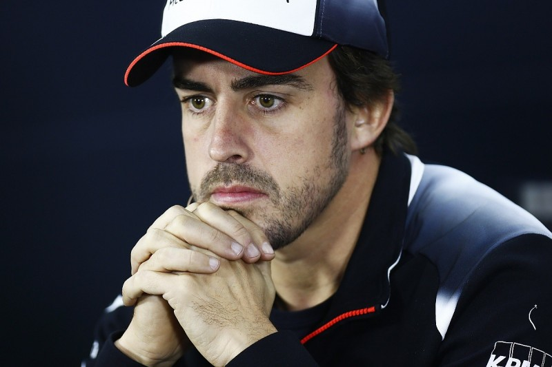 Lung and rib injuries cause of Fernando Alonso missing Bahrain GP
