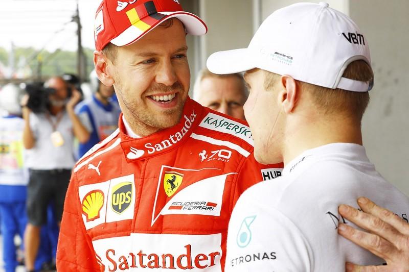 Sebastian Vettel 'chickened out' on final F1 qualifying lap in Brazil