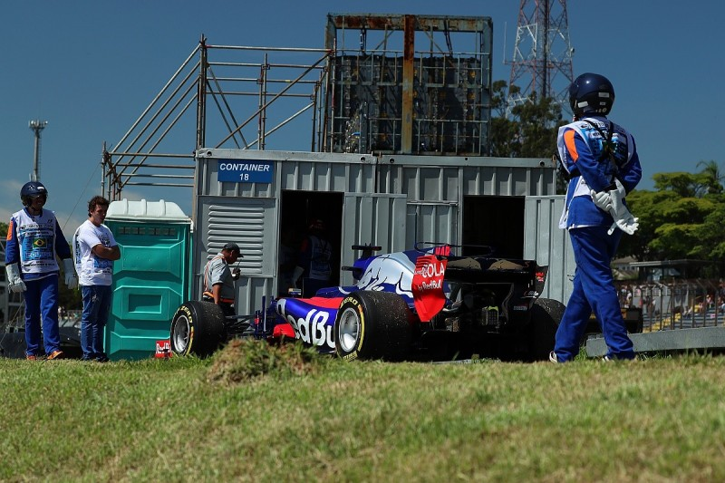 Brazilian GP: Toro Rosso hits back at Renault over failures