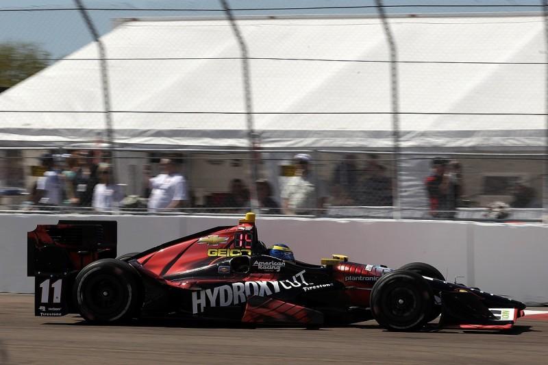 Bourdais' KVSH IndyCar team escapes transporter fire on way to race