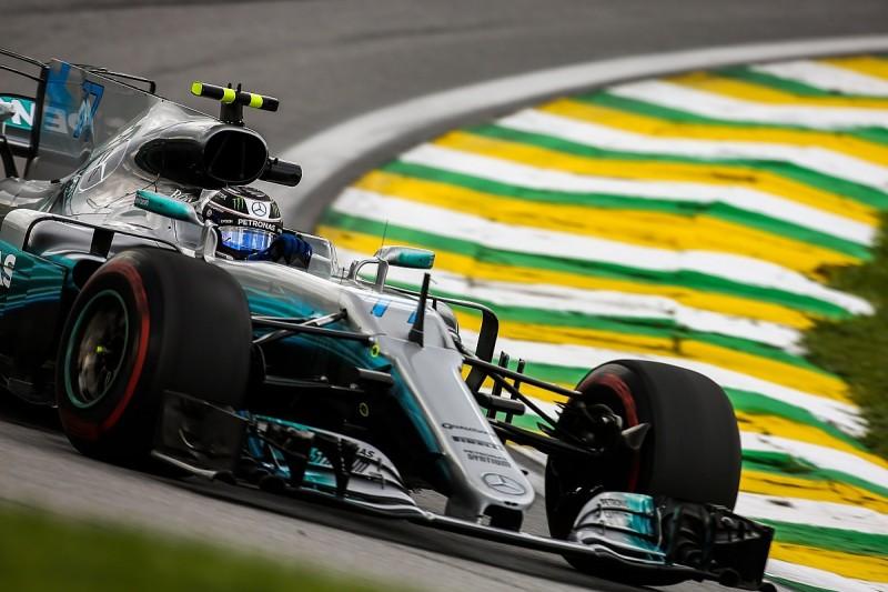 Brazilian GP: Bottas pips Hamilton in a tight FP3 session