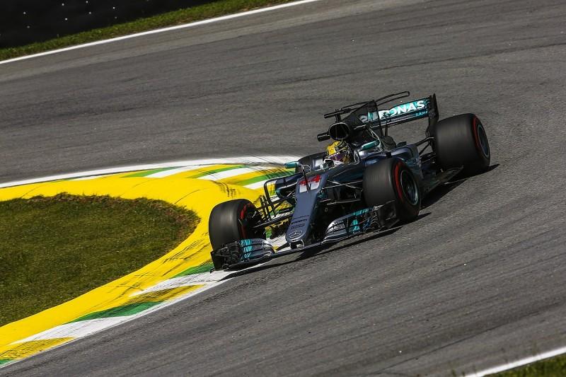 Brazilian GP: Hamilton pips Bottas to top second practice