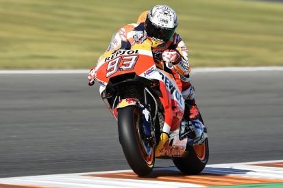MotoGP Valencia: Marquez tops FP3 but Dovizioso struggles