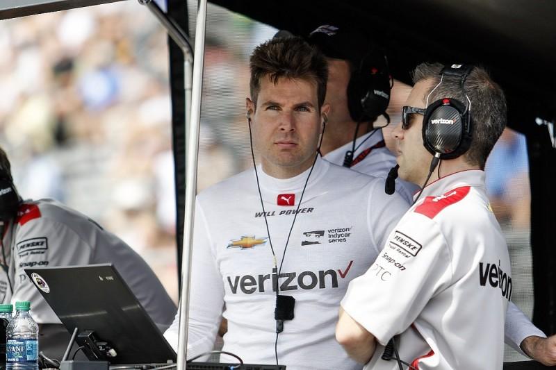 Penske's Power still eyeing IndyCar title bid after missing St Pete