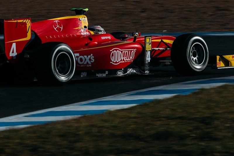 Jerez GP2 test: Racing Engineering's Jordan King leads second day