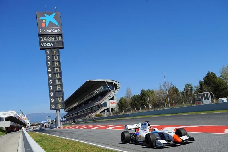 Yu Kanamaru tops final day of Barcelona FV8 3.5 testing