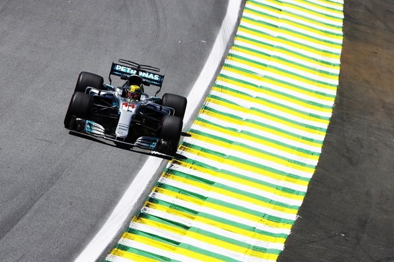 Brazilian GP practice: Lewis Hamilton fastest for Mercedes in FP1