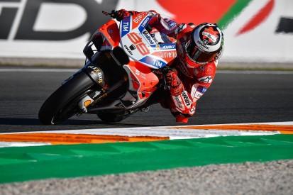 MotoGP Valencia: Lorenzo tops FP2 as Marquez suffers late crash