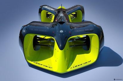 Concept design for Formula E's driverless Roborace support revealed
