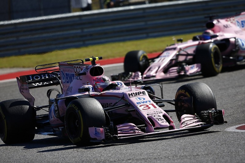 Force India could keep ban on F1 drivers racing each other in place