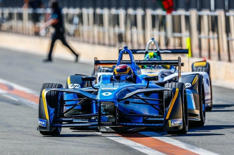 Renault e.dams completely restructured Formula E testing team