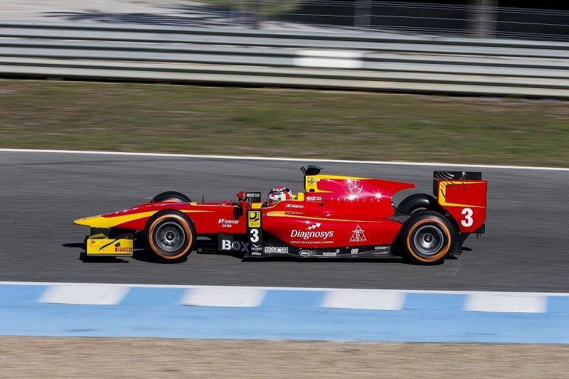 GP2 testing: Norman Nato fastest for Racing Engineering at Jerez