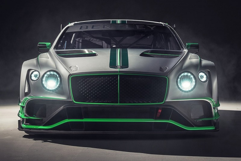 Bentley reveals new Continental GT3 it will race in 2018