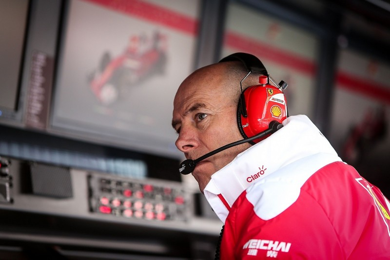F1 title with Ferrari would be my greatest - Jock Clear