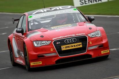Sam Tordoff makes BTCC return with AmD Audi test