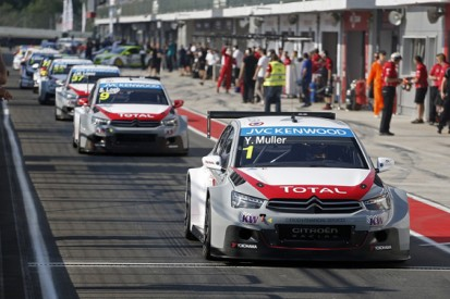 Moscow WTCC: Citroen's Yvan Muller sets the pace in practice