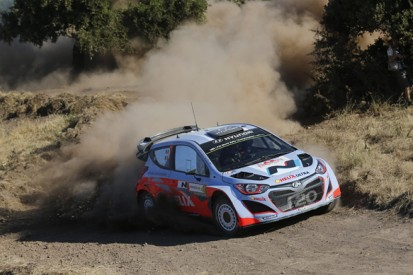 WRC Italy: Hyundai upbeat despite disasters when leading