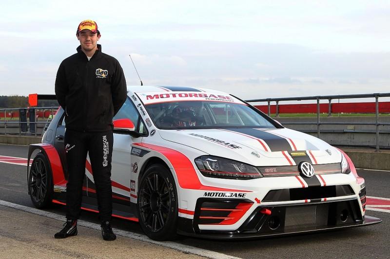 Injured BTCC racer Luke Davenport has first test since Croft crash