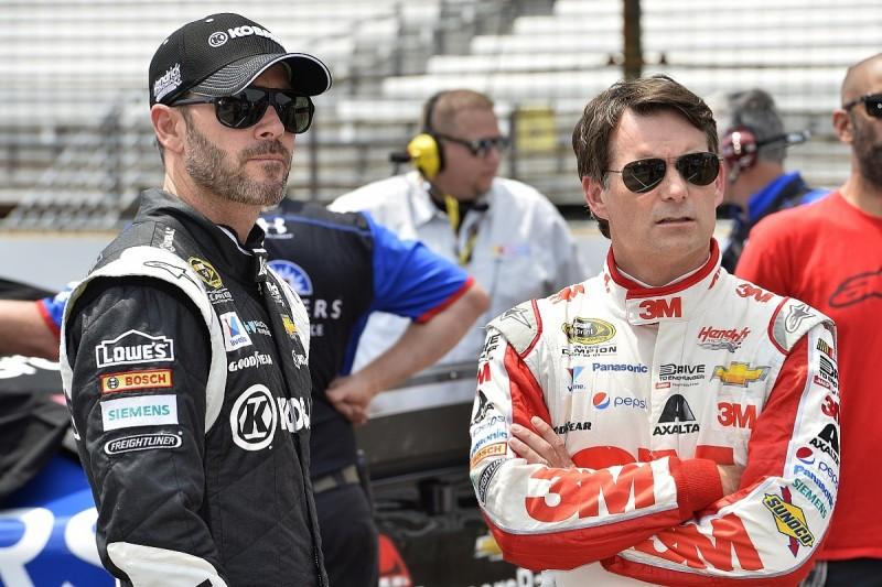 Jimmie Johnson chasing Jeff Gordon on NASCAR's winners' list