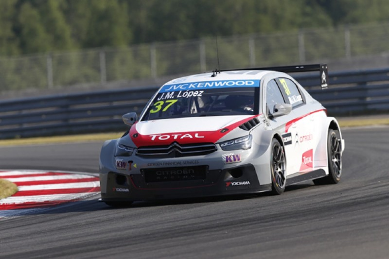 Moscow WTCC: Jose Maria Lopez secures third pole of 2014