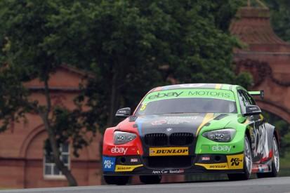 Oulton Park BTCC: Colin Turkington sets practice pace