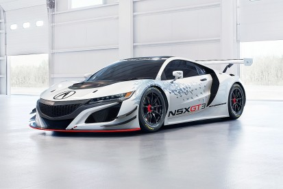 GT3 version of Acura NSX supercar revealed ahead of works project