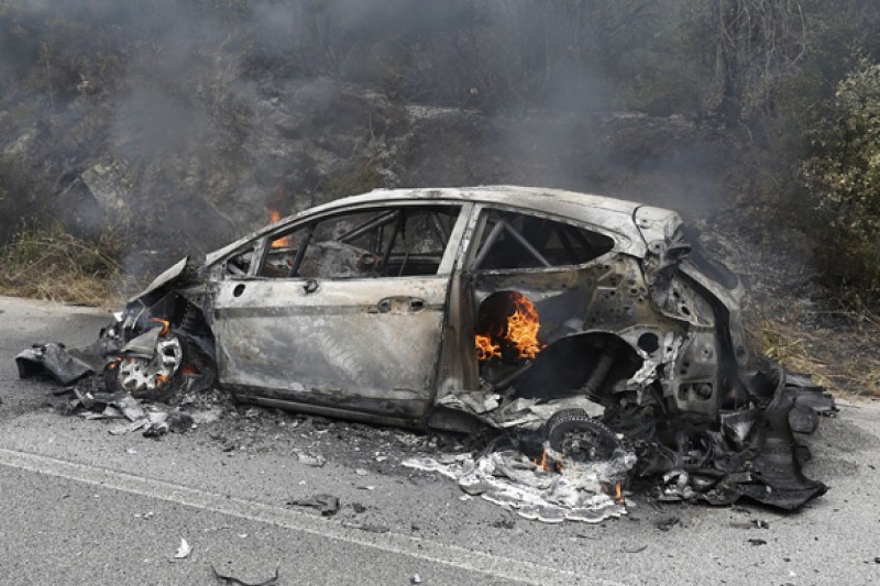 WRC Italy: Mikko Hirvonen blaze cause may remain a mystery