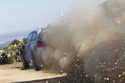 WRC Italy: Jari-Matti Latvala leads after Hyundai heartbreak
