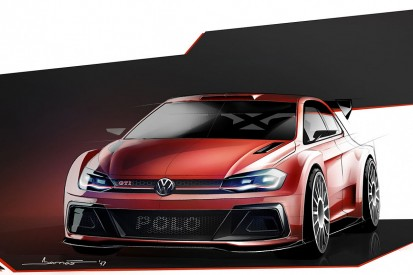 VW offers first look at its new Polo GTI R5 for 2018 WRC2