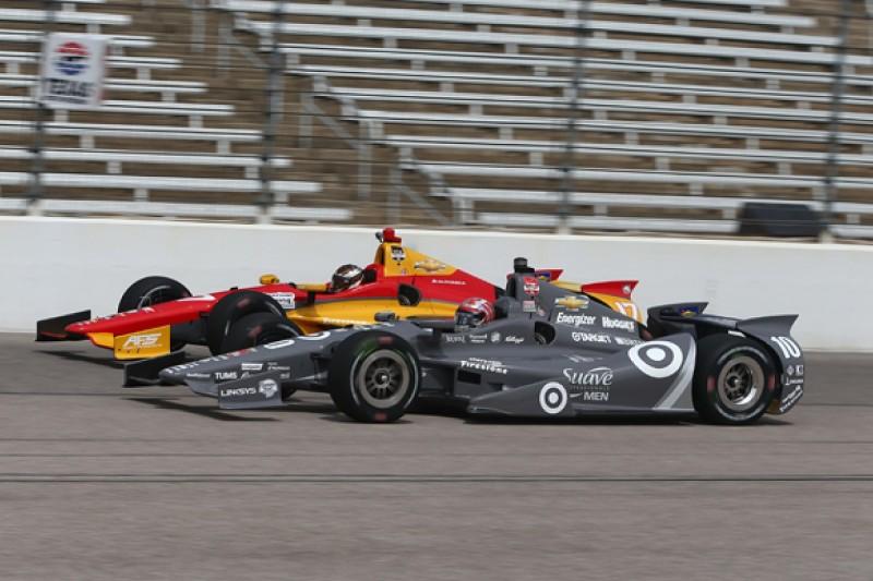 Texas IndyCar: Tony Kanaan leads all-Ganassi practice top three