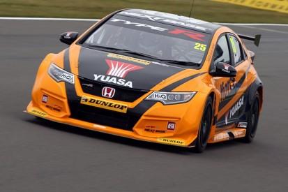 Matt Neal's Honda tops BTCC test day at Donington
