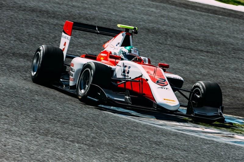 ART driver Nirei Fukuzumi leads day one of GP3 test at Estoril