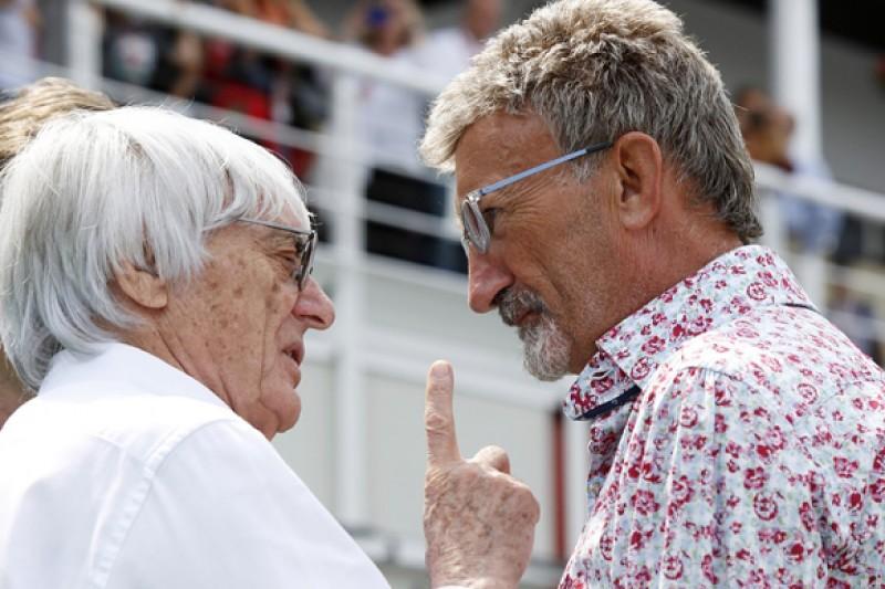 Bernie Ecclestone dismisses F1 TV decline and social media calls