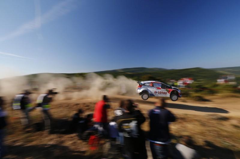 WRC Italy: Robert Kubica tops shakedown in Sardinia