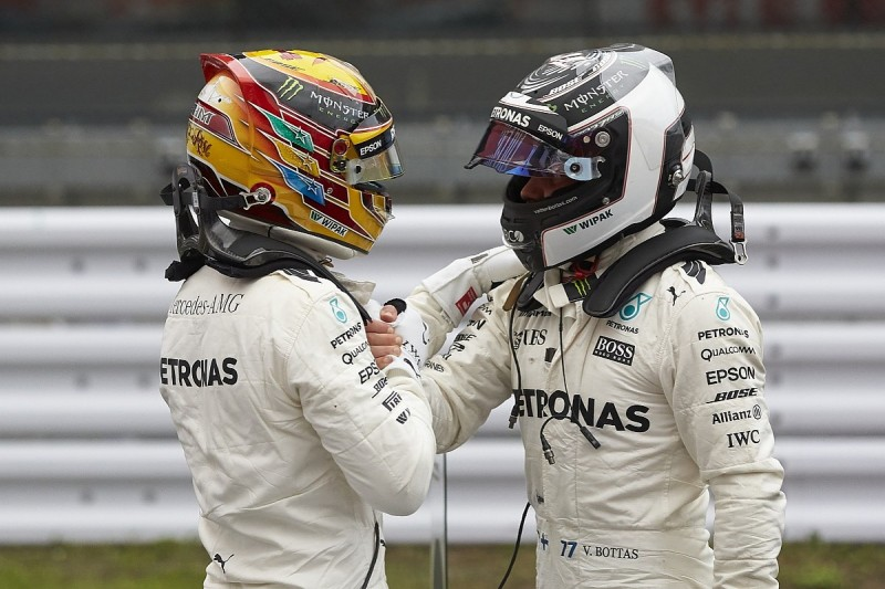 Bottas didn't realise how hard Hamilton works at Mercedes F1 team