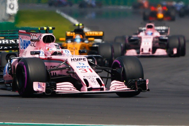 Force India considering 'risky' parts for final F1 races of 2017