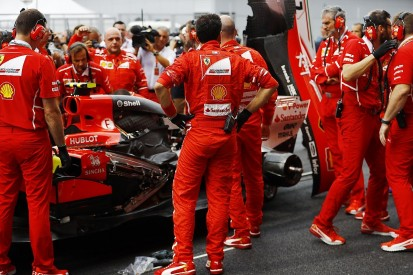 Ferrari says 'painful' 2017 F1 title defeat exposes shortcomings